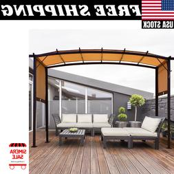 12' x 9' Pergola Kit Metal Frame Gazebo &Canopy Cover Patio