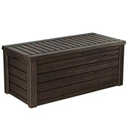 150 Gallon Resin Large Deck Box-Organization and Storage for