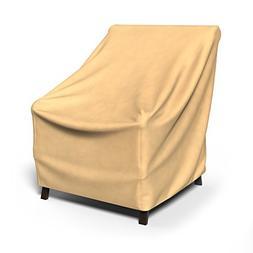 Budge All-Seasons Medium Outdoor Chair Cover P1W01SF1, Tan