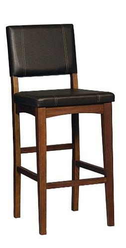 Linon Home Decor Milano Bar Stool, 30-Inch