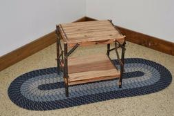 A&L Furniture Co. Amish-Made Hickory End Table, Available in