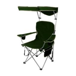 Quik Shade Adjustable Canopy Folding Camp Chair - Forest Gre
