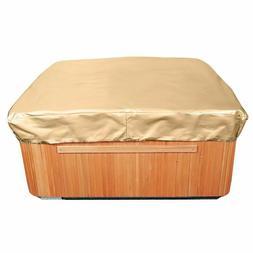 All-Seasons Square Hot Tub Cover Waterproof Patio Furniture