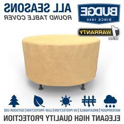 Patio Round Table Cover Outdoor Garden Furniture Dust Rain U