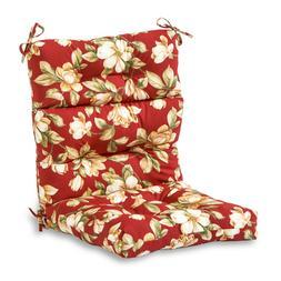 Greendale Home Fashions Outdoor High Back Chair Cushion, Rom