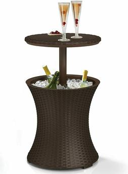 Best Cool Bar Table Patio Outdoor Furniture Bistro Piece Din