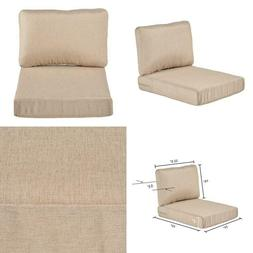 Beverly Beige Replacement 2 Piece Outdoor Sectional Chair Cu