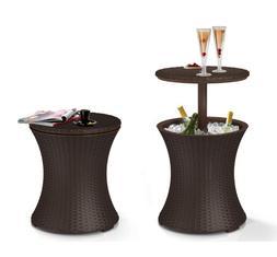 Cool Bar Table Patio Set Outdoor Furniture Bistro Piece Dini