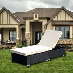 Cushioned Chaise Lounge Set Outdoor Recliner Furniture Ratta