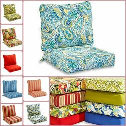 Cushions For Patio Furniture Outdoor Seat Pillow Back UV Res