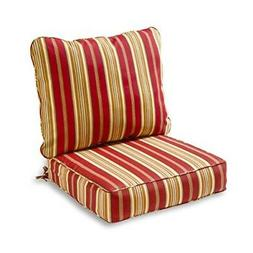 Greendale Home Fashions Deep Seat Cushion Set - Roma Stripe