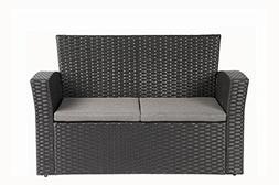 Baner Garden Outdoor Furniture Complete Patio 4 pieces PE Wi