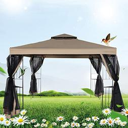 FurniTure Outdoor Gazebo 10' x 10' Gazebo Vented Garden Part