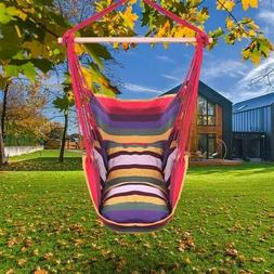 Hammock Patio Porch Hanging Rope Chair Garden Swing Seat Fur