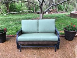 Hampton Bay Melborne Patio Furniture Replacement Cushions- 6
