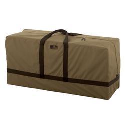 Classic Accessories Hickory Patio Cushion Bag, Tan