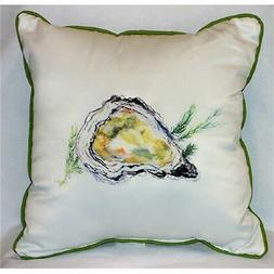 Betsy Drake HJ121 Oyster Art Only Pillow 18''x18&a