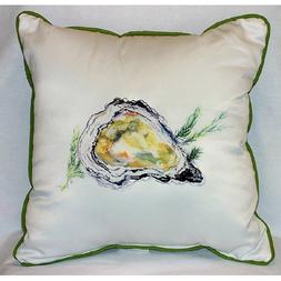 Betsy Drake HJ121 Oyster Art Only Pillow 18x18