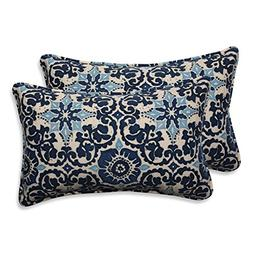 Pillow Perfect Outdoor/Indoor Woodblock Prism Rectangular Th