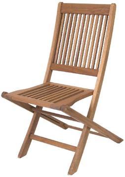 Amazonia Ipanema 2-Piece Folding Eucalyptus Chair