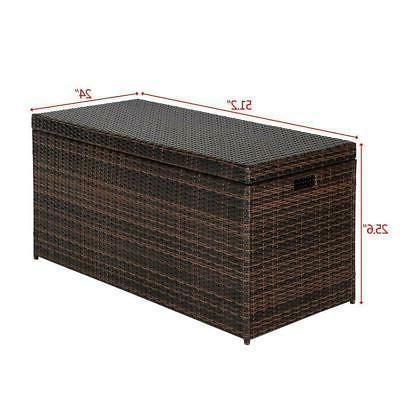 132 Deck Box Patio Garden Furniture SHIP