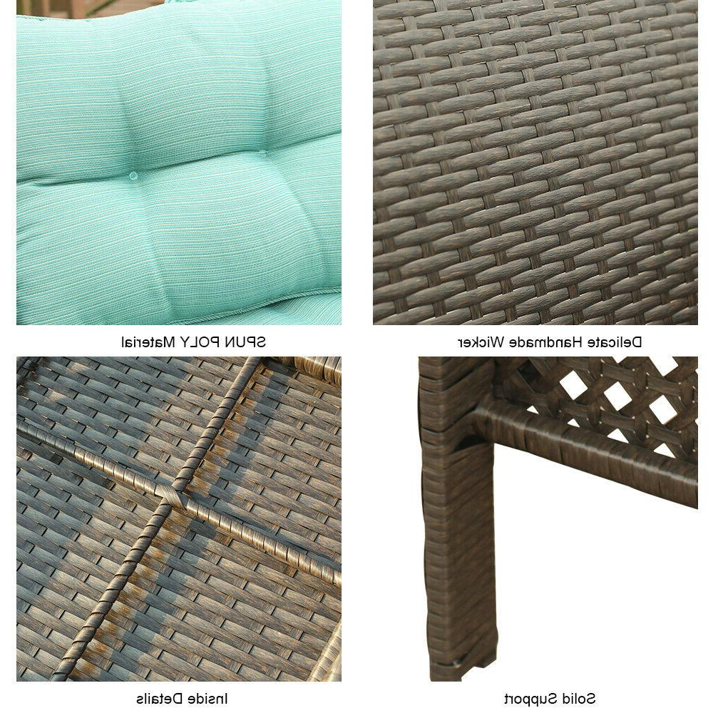 2PC Set Outdoor Sectional Couch