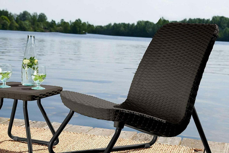 Keter Patio Garden Chair & Brown