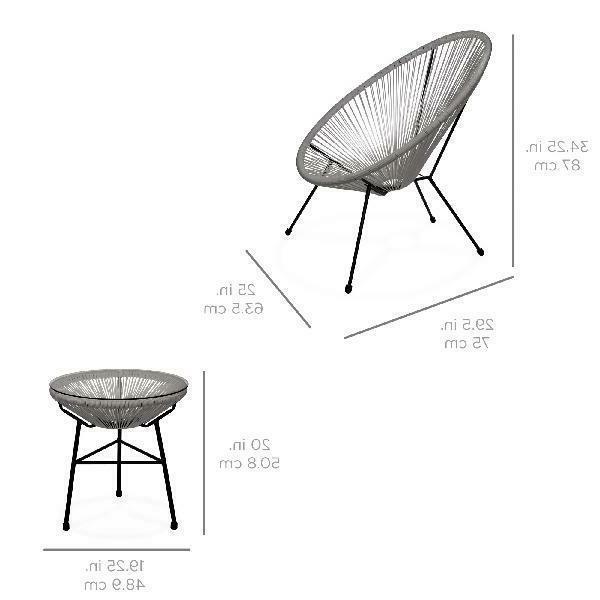 All-Weather Furniture Set w/