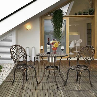 3-Piece Outdoor Patio Bistro Set Patio Furniture