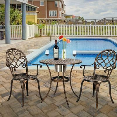 3-Piece Patio Furniture Chair