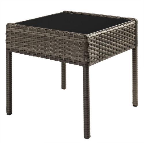 Conversation Set Wicker Rattan Furniture Cushioned Pieces