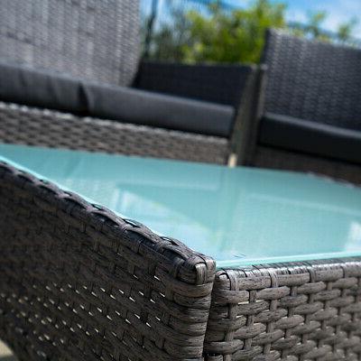 4 Rattan Sofa Seat