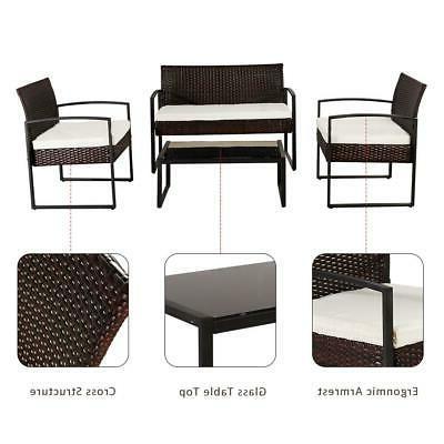 4 PCS Sofa Furniture Set