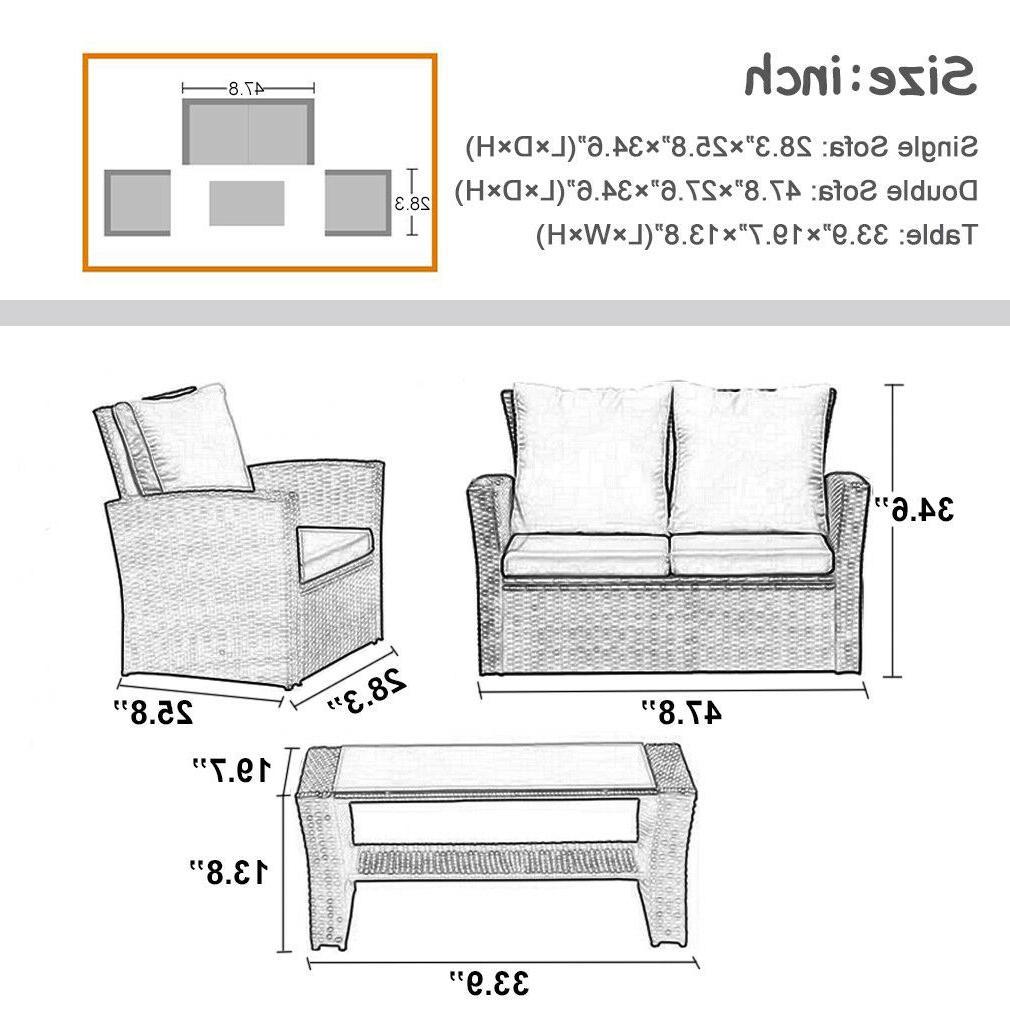 4 Outdoor Furniture