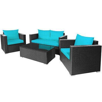 4PCS Set Sofa Coffee
