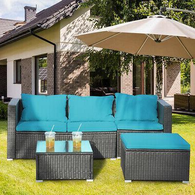 4PCS Set Cushioned Garden