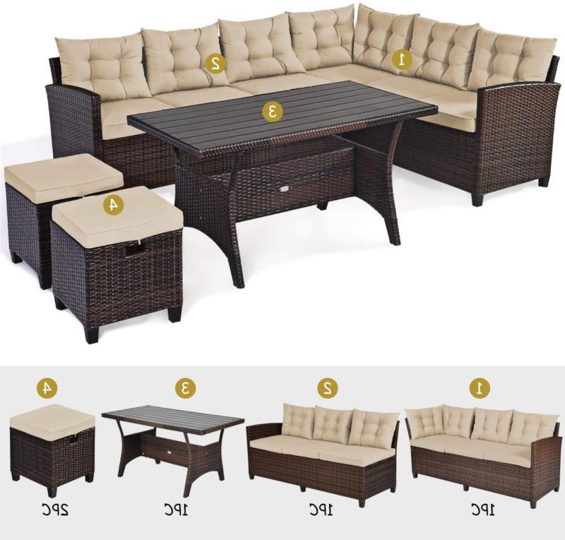 Tangkula Furniture Set Se