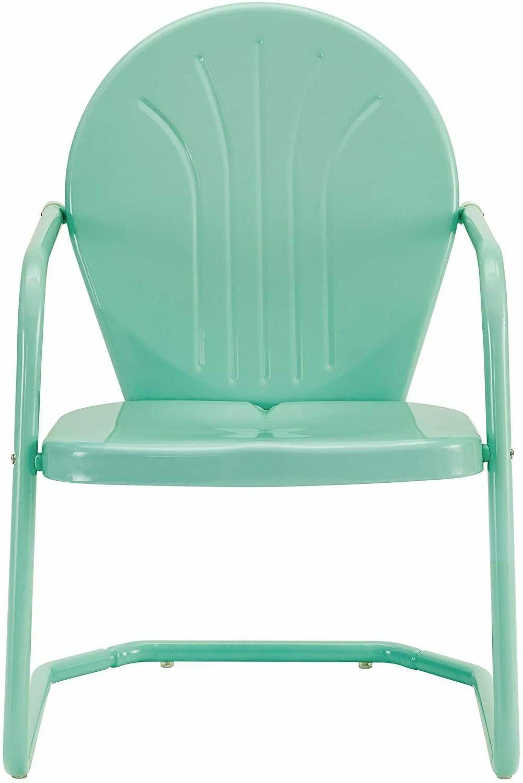 5 Piece 1-Table 4-Chairs Patio Retro