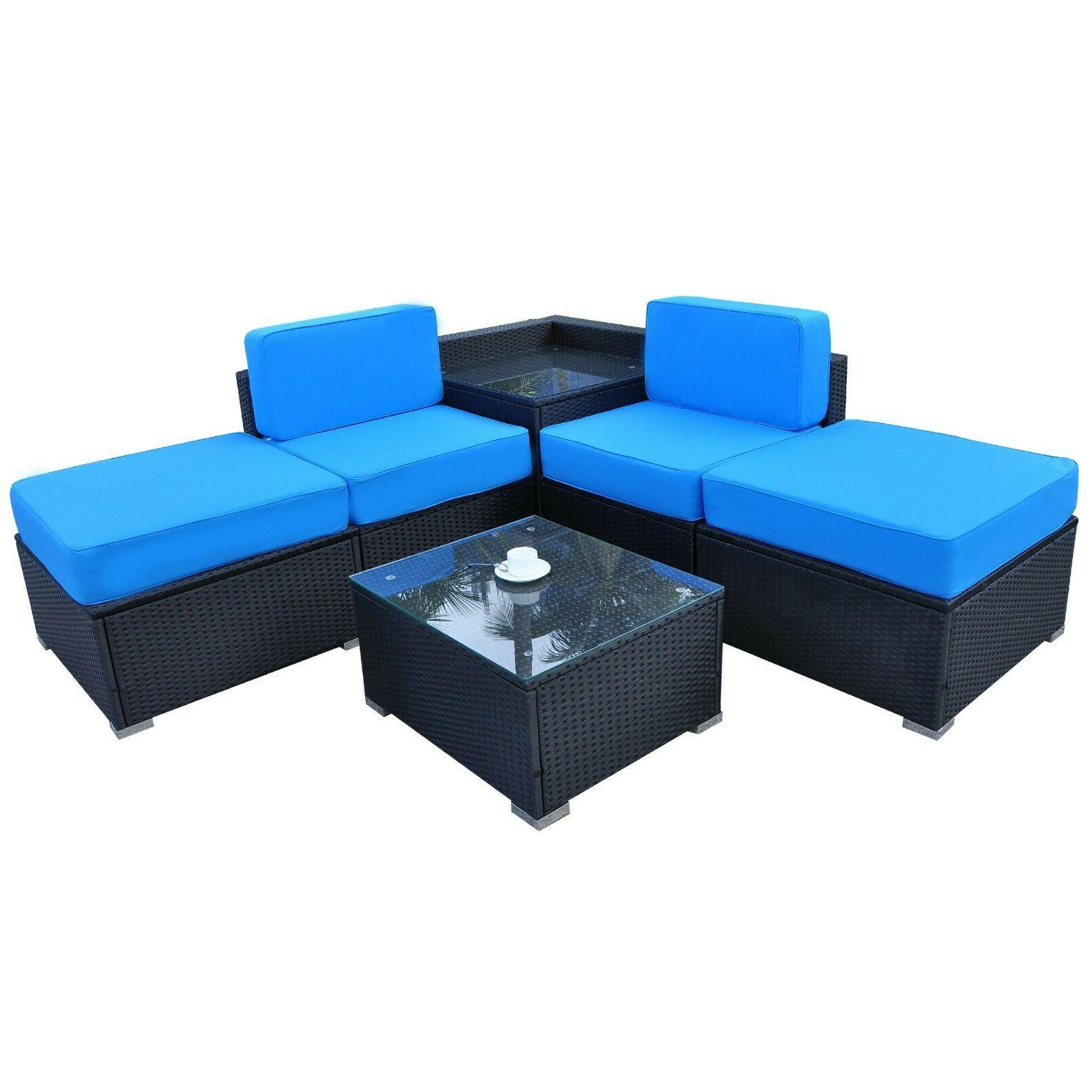 Mcombo Pieces Outdoor Sectional 6082