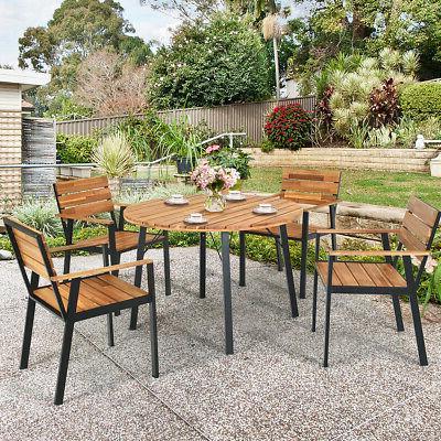 5pcs patio dining set outdoor dining furniture