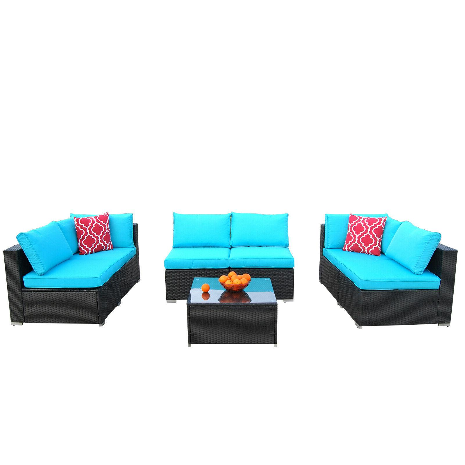 Set PE Rattan Furniture Conversation