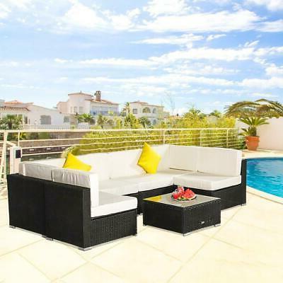 7 Sofa Sectional Cushioned