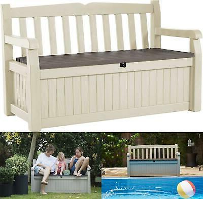 70 gallon eden garden storage bench outdoor