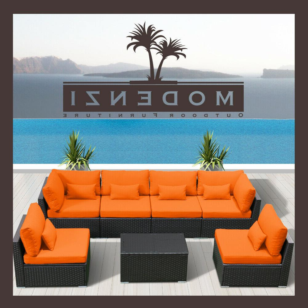 7G Sectional Patio Set