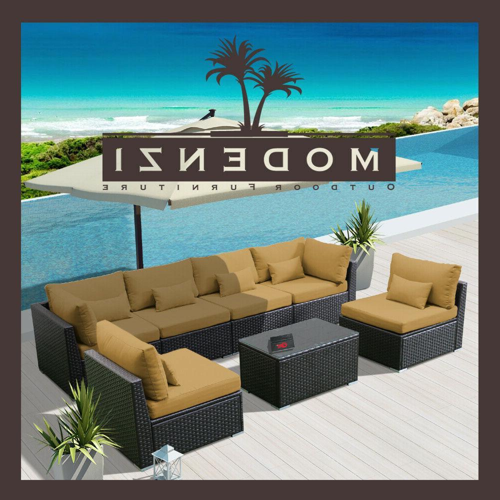 7G Sectional Sofa Set Garden