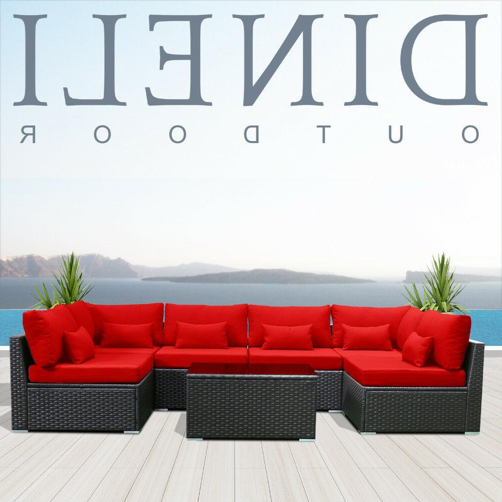 7G Sectional Set Garden Couch