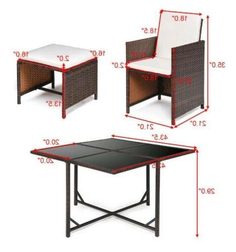 9 Outdoor Dining Set Furniture