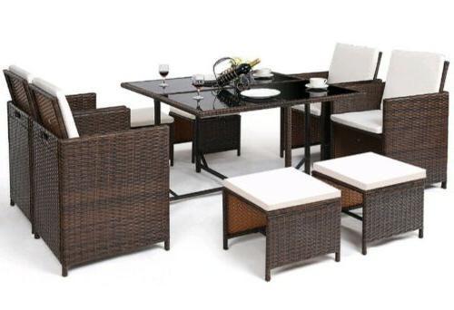 9 Piece Dining Set Furniture