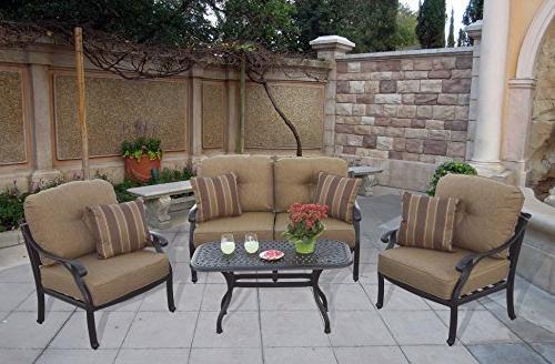 Darlee Deep Outdoor-and-Patio-coversation-Sets, Bronze