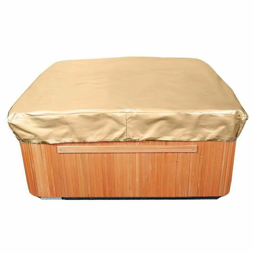 all seasons square hot tub cover waterproof